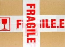 Pacchetto fragile Fotografia Stock Libera da Diritti