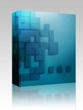 Pacchetto geometrico astratto della casella di figure royalty illustrazione gratis