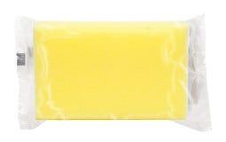 Pacchetto giallo Immagini Stock Libere da Diritti