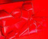 Pacchetto rosso Immagini Stock