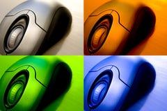 Pacchetto senza fili del mouse fotografie stock