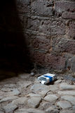 Pacchetto vuoto della sigaretta Fotografia Stock Libera da Diritti
