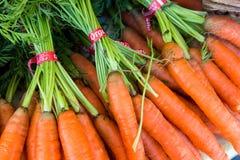 Pacchi delle carote variopinte Fotografia Stock Libera da Diritti