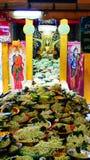 Pacchoatumjai. Buddha stuate name is pachoatumjai in the chiangmai thailand stock photo