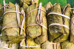 Pacco dei dolci di riso della Tailandia Fotografie Stock