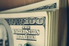Pacco dei dollari Fotografie Stock Libere da Diritti