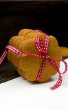 Pacco del pan di zenzero Immagine Stock