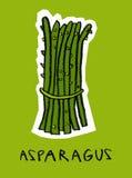Pacco dell'asparago Immagine Stock