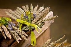 Pacco di grano Immagini Stock Libere da Diritti