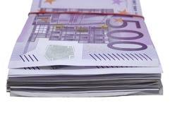 Pacco di soldi Immagini Stock Libere da Diritti