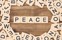 Pace fotografie stock libere da diritti