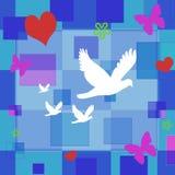 Pace & amore royalty illustrazione gratis