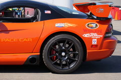 Pace car Royalty Free Stock Images