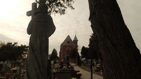 Pace in cimitero Fotografie Stock Libere da Diritti