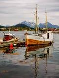 Pace da pescare e dormire Immagine Stock Libera da Diritti