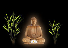 Pace del Buddha Fotografia Stock Libera da Diritti