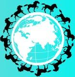 Pace del mondo Fotografia Stock Libera da Diritti