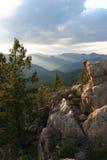 Pace della montagna Fotografia Stock