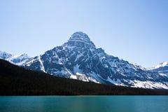 Pace della montagna rocciosa Immagini Stock