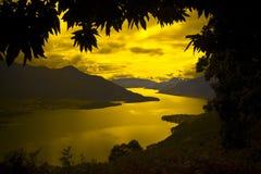 Pace di tramonto Immagine Stock