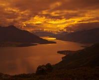 Pace di tramonto Fotografia Stock Libera da Diritti