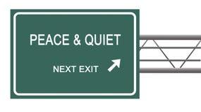 Pace e quiete immagine stock