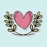 Pace ed amore globali ad armonia mondiale royalty illustrazione gratis