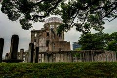 Pace Memorial Park di Hiroshima della cupola della bomba atomica fotografia stock libera da diritti