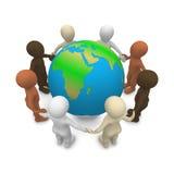 Pace sulla terra Immagine Stock