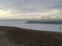 Pace & tramonto Fotografia Stock