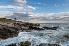 Paceful. A lighthouse in the East coast of the United States Royalty Free Stock Images