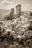 Pacentro Abruzzo Royaltyfri Foto