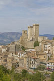 Pacentro in Abruzzo Royalty Free Stock Photography