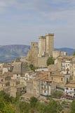 Pacentro i Abruzzo Royaltyfri Fotografi