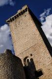 Pacentro liten stad av Abruzzo Royaltyfri Foto