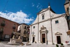 Pacentro Stary miasteczko w Abruzzo gór regionie Obraz Stock