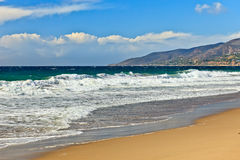 Pacfic ocean coast. CA, USA Royalty Free Stock Photography