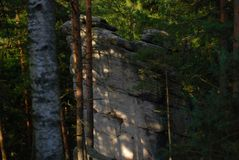 Pach del ¡ di AdrÅ (¡ LY dello skà dello ské del ¡ del paÅ del ¡ di AdrÅ) Fotografie Stock