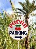 Pacha parking Royalty Free Stock Photos