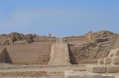 Pachacamac, Perú imagenes de archivo