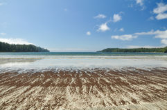 Pachena Bay. Wide beach on the West Coast Trail on Vancouver Island, British Columbia, Canada Stock Photography