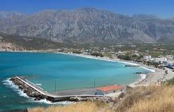 Pachia Ammos beach at Crete, Greece Royalty Free Stock Photo