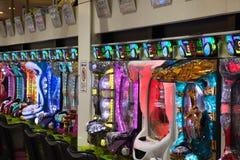 Pachinko Machines royalty free stock photo