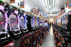 Pachinko in Osaka, Japan Royalty Free Stock Photos
