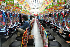 Pachinko Parlor Royalty Free Stock Images