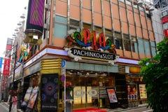 Pachinko, Tokyo, Japan Royalty Free Stock Photos