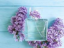 Pachnidło bez na drewnianym aromatherapy piękna relaksie obraz stock