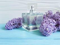 Pachnidło bez na drewnianym aromatherapy pięknie zdjęcie royalty free