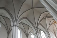 Pachwina Sklepia Marienkirche Berlin fotografia stock