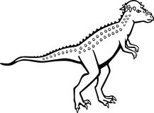 Pachycephalosaurus Fotografia Stock